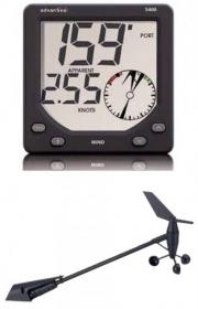 advanSea S400 WIND tuulijärjestelmä digitaalinäytöllä