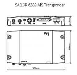 Sailor 6281 A-luokan AIS-lähetinvastaanotin