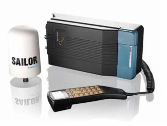 SAILOR SC4000 Iridium SatCom-järjestelmä