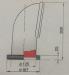 Vetus Silikoninen joutsenkaulaventtiili SAMOEN, avattava kiinnitys