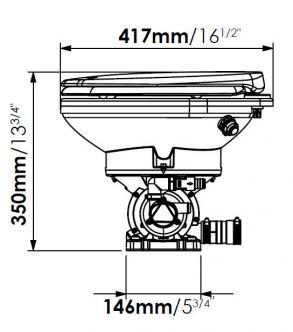 Sanimarin Käymälä Maxlite+ 12 V