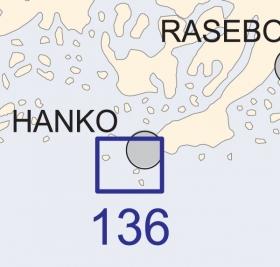 Satamakartta 136, Hanko 1:20 000