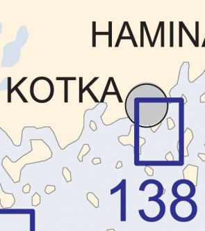 Satamakartta 138, Kotka 1:10 000