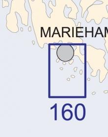 Satamakartta 160, Maarianhamina 1:25 000