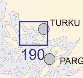 Satamakartta 190, Turku 1:20 000