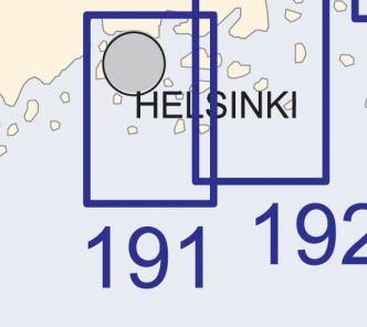 Satamakartta 191, Helsinki 1:20 000
