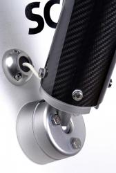Scanstrut SC100 täydellinen perätolppasarja, hiilikuitu