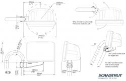 Scanstrut Rail Pod SPR-7-RM