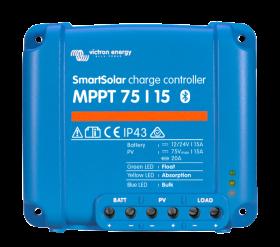Victron SmartSolar MPPT 75/15 lataussäädin Bluetoothilla