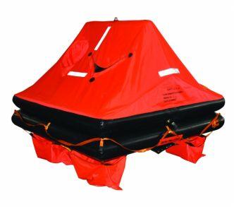 Seago ISO 9650-1 pelastuslautan yleiskuva edestä