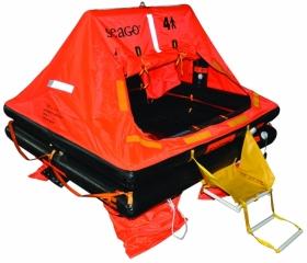 Seago Sea Master 12 hengen ISO 9650-1 pelastuslautta kassimalli