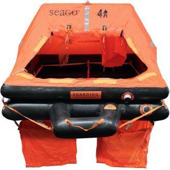 Seago Sea Master 6 hengen ISO 9650-1 pelastuslautta kotelomalli