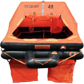 Seago Sea Master 10 hengen ISO 9650-1 pelastuslautta kassimalli