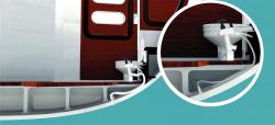 SeaSmart® vesi-WC:n hajunesto ja desinfiointijärjestelmä