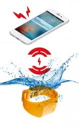Yhteys älypuhelimeen katkeaa kun Sea-Tags joutuu veden alle