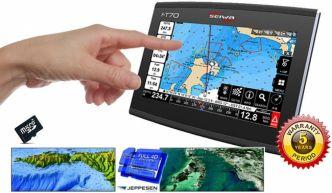 Seiwa FT70 karttaplotteri monikosketusnäytöllä