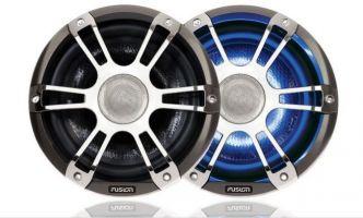 "Fusion SG-CL77SPC 7,7"" 280 W Signature LED kaiutinpari kromi"
