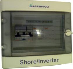 Mastervolt InverterSwitch maasähkökeskus automaattisella syötönvaihdolla