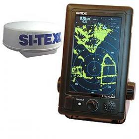 Si-Tex T-760 tutka värillisellä kosketusnäytöllä