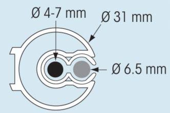Plastimo 811S rullareivijärjestelmä