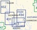Sisävesikartta 433, Kuopio – Karjalankoski 1:40 000