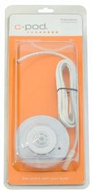 C-pod savun ja lämmön tunnistin USB-liitännällä