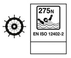 Mullion HI-Rise 275N Solas Regular automaattiliivi, punainen