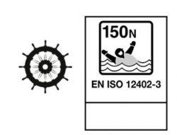 Mullion HI-Rise 150N Solas Regular automaattiliivi, tummansininen