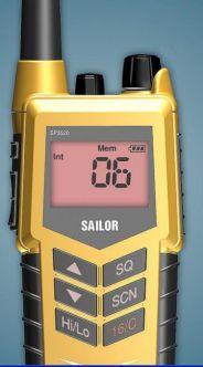 Sailor SP3520 GMDSS käsi-VHF