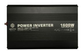 Spectra MS1600 invertteri 1600 W, 12 V kanttiaalto