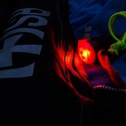 Exposure Lights Spot Me SOS Strobe RED