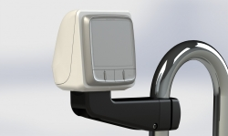 SPR-1i-ARM edestä (kuvan mittari ei säsälly toimitukseen)