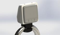 SPR-1i-RM edestä (kuvan mittari ei säsälly toimitukseen)