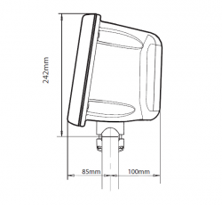 Scanstrut Rail Pod SPR-8-RM
