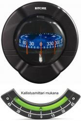 Ritchie Venture- kompassi laipioasennuksella