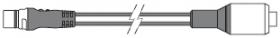 Raymarine SeaTalk ng <-> Micro-C (naaras) adapterikaapeli 40 cm
