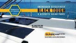 SUNBEAMsystem TOUGH 54 W Flush Long Black