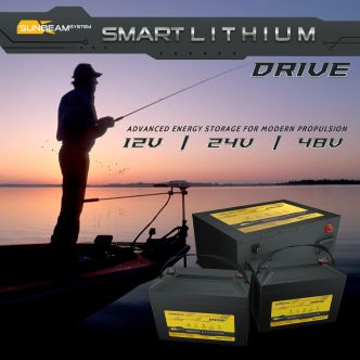 SUNBEAMsystem SMART LITHIUM DRIVE akku 100Ah, 12 V