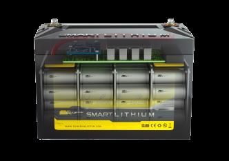 SUNBEAMsystem SMART LITHIUM BASIC akkupari 2x50Ah, 24 V