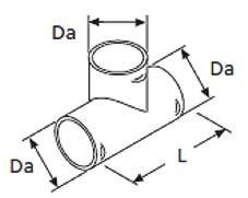 Webasto T-haara 60 x 60 x 60 mm