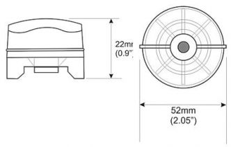 Raymarine Micronet GPS-anturi T908