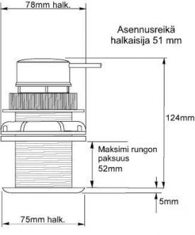 Raymarine Micronet kaiku-anturi T912