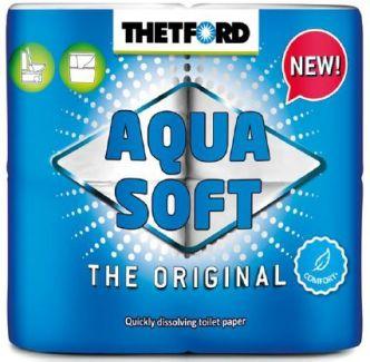 Thetford Aquasoft WC-paperi 4 rullaa