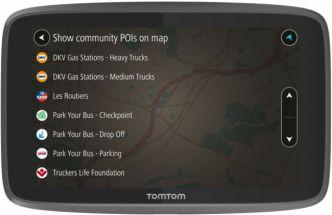 TomTom Professional 6250 Rekkanavigaattori