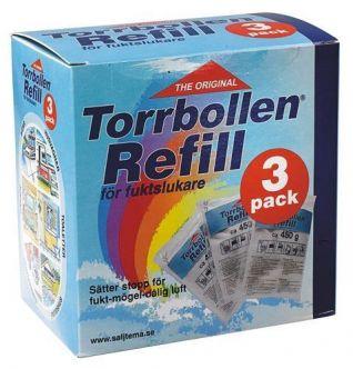 Torrbollen Täyttöpakkaus, 3 pack