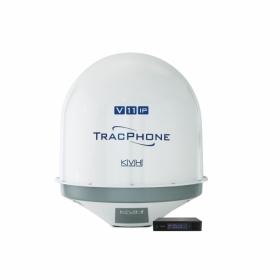 KVH TracPhone V11-IP mini-VSAT SatCom-järjestelmä