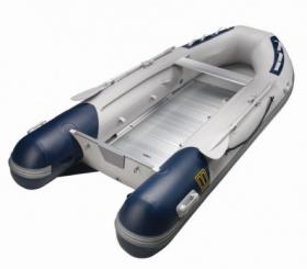 Vetus Explorer 300E kumivene alumiinisella sisäpohjalla