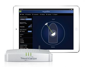 KVH TracVision TV10 TV-antenni satelliittivastaanottoon