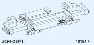 Ultraflex Hyco™- OBF1 hydrauliohjaus max 150 hv perämoottoreille