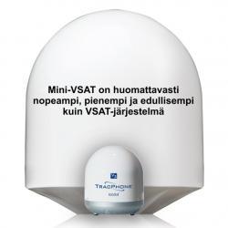 KVH TracPhone V3-IP mini-VSAT SatCom-järjestelmä